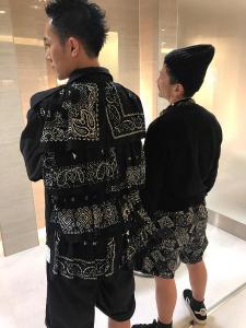 バンダナファッション
